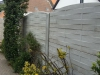 omheining in betonstructuurplaten (2)