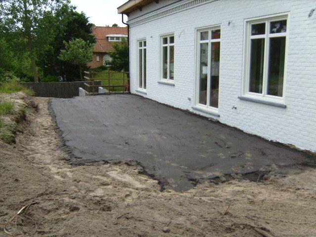Grondwerken: voorbereidingswerken voor vloerwerk