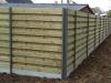 houten windschermen met aluminum palen (2)