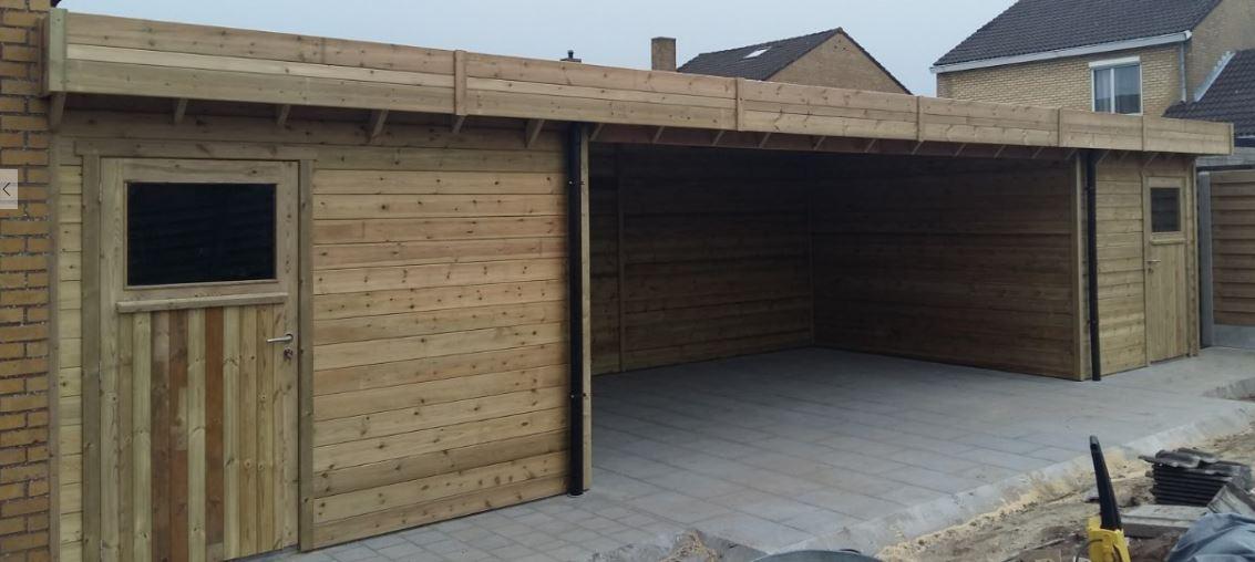 Jurgen den baesplat dak jurgen den baes - Overdekt terras in hout ...