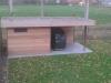 tuinhuis ALKANA + overdekt terras (cederhout)