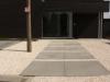 Siergrind in combinatie met megategels (beton)