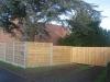 houten tuinpoort idem uitvoering als schermen (2)
