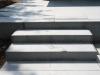 uitwerken trap met keramische vloertegel